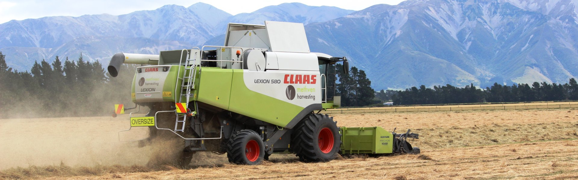 Methven Harvesting - Mid Canterbury Agricultural Contractor