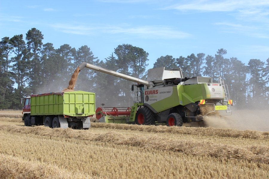 Methven Harvesting (6) - Mid Canterbury Owner / Operator Agricultural Contractor